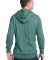 District Young Mens Marled Fleece Full Zip Hoodie  Mrld Evergreen