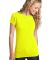 District Juniors Concert Tee DT5001 Neon Yellow