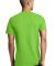 District Young Mens Concert V Neck Tee DT5500 Neon Green