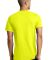 District Young Mens Concert V Neck Tee DT5500 Neon Yellow
