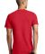 District Young Mens Concert V Neck Tee DT5500 New Red