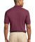 Port Authority Pique Knit Polo K420 Burgundy