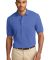 Port Authority Pique Knit Polo K420 Faded Blue