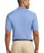 Port Authority Pique Knit Polo K420 Light Blue