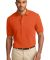 Port Authority Pique Knit Polo K420 Orange