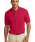 Port Authority Pique Knit Polo K420 Red