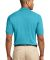 Port Authority Pique Knit Polo K420 Turquoise