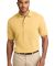 Port Authority Pique Knit Polo K420 Yellow