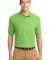 Port Authority Silk Touch153 Polo K500 Lime