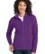 Port Authority Ladies Microfleece Jacket L223 Amethyst Purpl