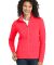 Port Authority Ladies Microfleece Jacket L223 Hot Coral