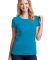 Fruit of the Loom Ladies Heavy Cotton HD153 100 Co Pacific Blue