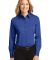 Port Authority Ladies Long Sleeve Easy Care Shirt  Royal/Cl Navy