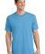 Port  Company 5.4 oz 100 Cotton T Shirt PC54 Aquatic Blue