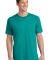 Port  Company 5.4 oz 100 Cotton T Shirt PC54 Bright Aqua