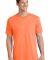 Port  Company 5.4 oz 100 Cotton T Shirt PC54 Neon Orange