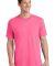 Port  Company 5.4 oz 100 Cotton T Shirt PC54 Neon Pink
