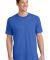 Port  Company 5.4 oz 100 Cotton T Shirt PC54 Royal
