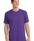 Port  Company 5.4 oz 100 Cotton T Shirt PC54 Team Purple