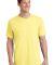 Port  Company 5.4 oz 100 Cotton T Shirt PC54 Yellow
