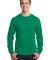Port  Company Long Sleeve 54 oz 100 Cotton T Shirt Kelly