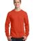 Port  Company Long Sleeve 54 oz 100 Cotton T Shirt Orange