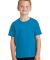 Port  Company Youth 54 oz 100 Cotton T Shirt PC54Y Sapphire