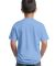 Port  Company Youth 5050 CottonPoly T Shirt PC55Y Light Blue