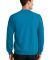 Port  Company Classic Crewneck Sweatshirt PC78 Neon Blue