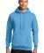 Port  Company Classic Pullover Hooded Sweatshirt P Aquatic Blue