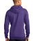 Port  Company Classic Pullover Hooded Sweatshirt P Hthr Purple