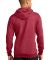 Port  Company Classic Pullover Hooded Sweatshirt P Hthr Red