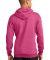 Port  Company Classic Pullover Hooded Sweatshirt P Hthr Sangria