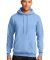 Port  Company Classic Pullover Hooded Sweatshirt P Light Blue