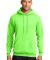 Port  Company Classic Pullover Hooded Sweatshirt P Neon Green