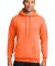 Port  Company Classic Pullover Hooded Sweatshirt P Neon Orange