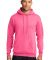Port  Company Classic Pullover Hooded Sweatshirt P Neon Pink