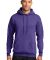 Port  Company Classic Pullover Hooded Sweatshirt P Purple