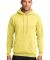 Port  Company Classic Pullover Hooded Sweatshirt P Yellow