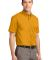 Port Authority Short Sleeve Easy Care Shirt S508 Athletic Gold