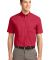 Port Authority Short Sleeve Easy Care Shirt S508 Red/Lt Stone