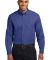 Port Authority Long Sleeve Easy Care Shirt S608 Mediter. Blue