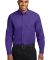 Port Authority Long Sleeve Easy Care Shirt S608 Purple