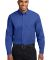 Port Authority Long Sleeve Easy Care Shirt S608 Royal/Cl Navy