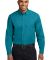 Port Authority Long Sleeve Easy Care Shirt S608 Teal Green