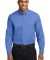 Port Authority Long Sleeve Easy Care Shirt S608 Ultramarne Blu