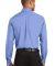 Port Authority Long Sleeve Value Poplin Shirt S632 Light Blue