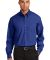 Port Authority Long Sleeve Value Poplin Shirt S632 Med. Blue