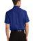 Port Authority Short Sleeve Value Poplin Shirt S63 Med. Blue