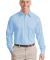 Port Authority Long Sleeve Non Iron Twill Shirt S6 Sky Blue